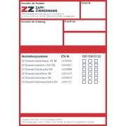 Kennzeichnungsschild ETA Zulassung